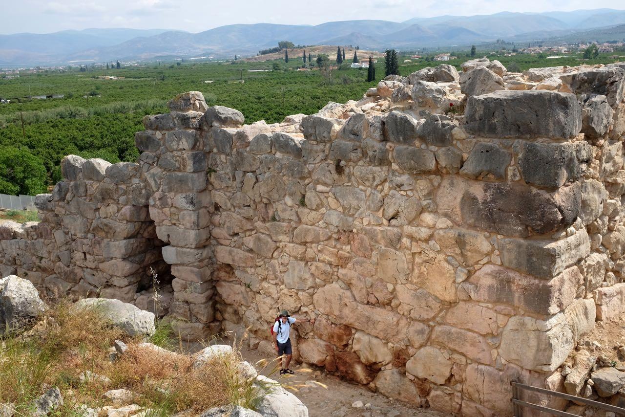 Von Kyklopen erbaut? Die Festung Tiryns, Peloponnes