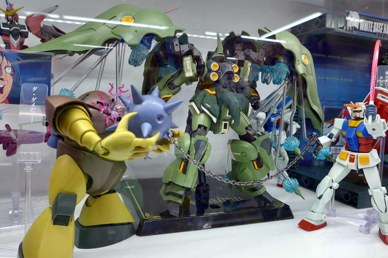 Japanische Manga & Comic Figuren, Den Den Town Osaka