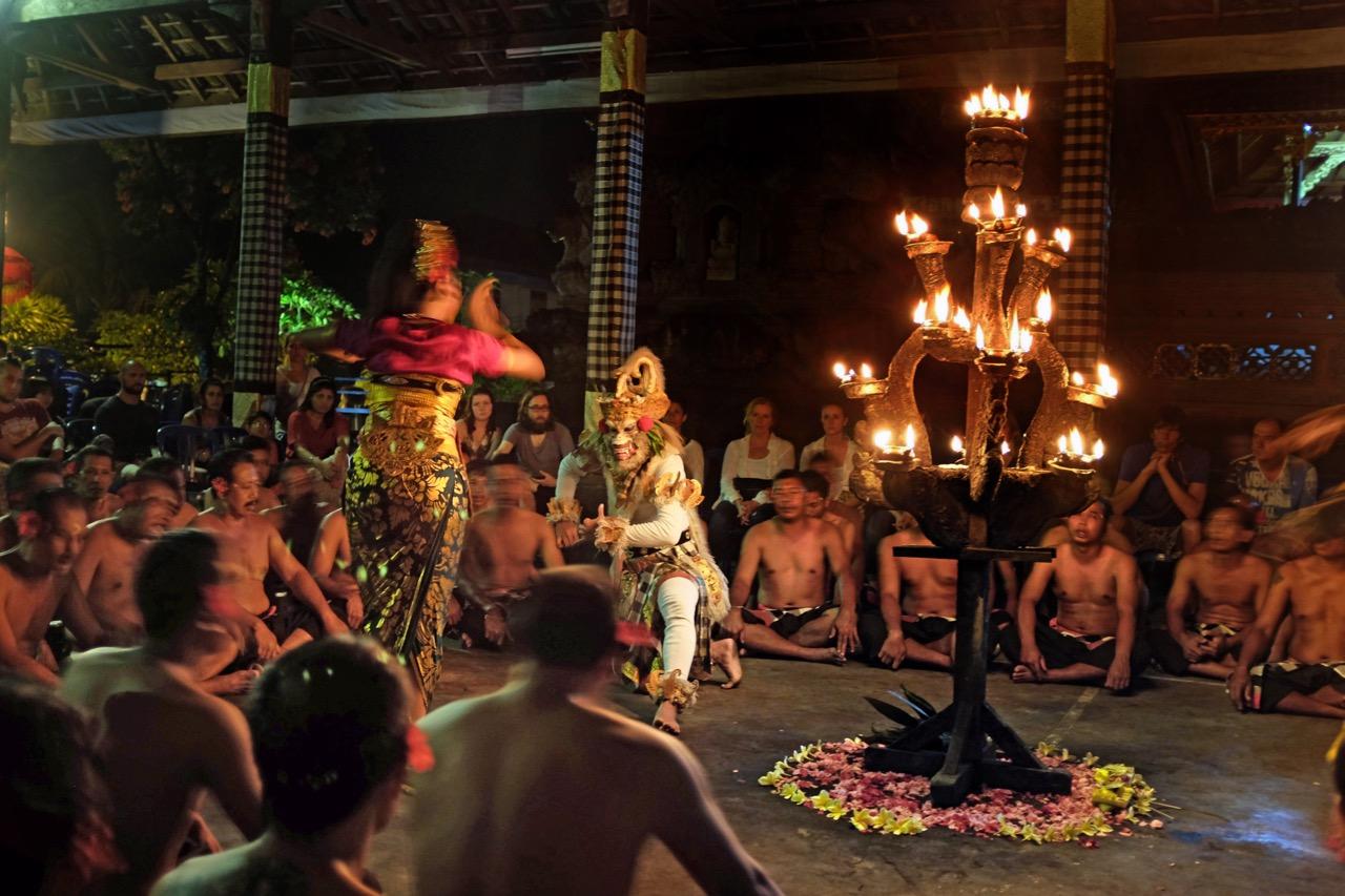 mystischer Affentanz von Ubud