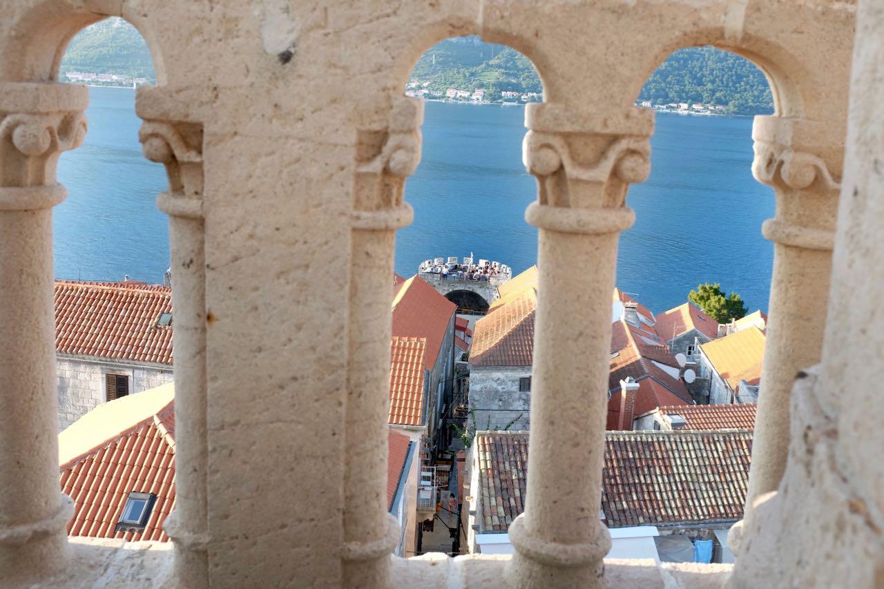 Vom  Sankt Markus Glockenturm