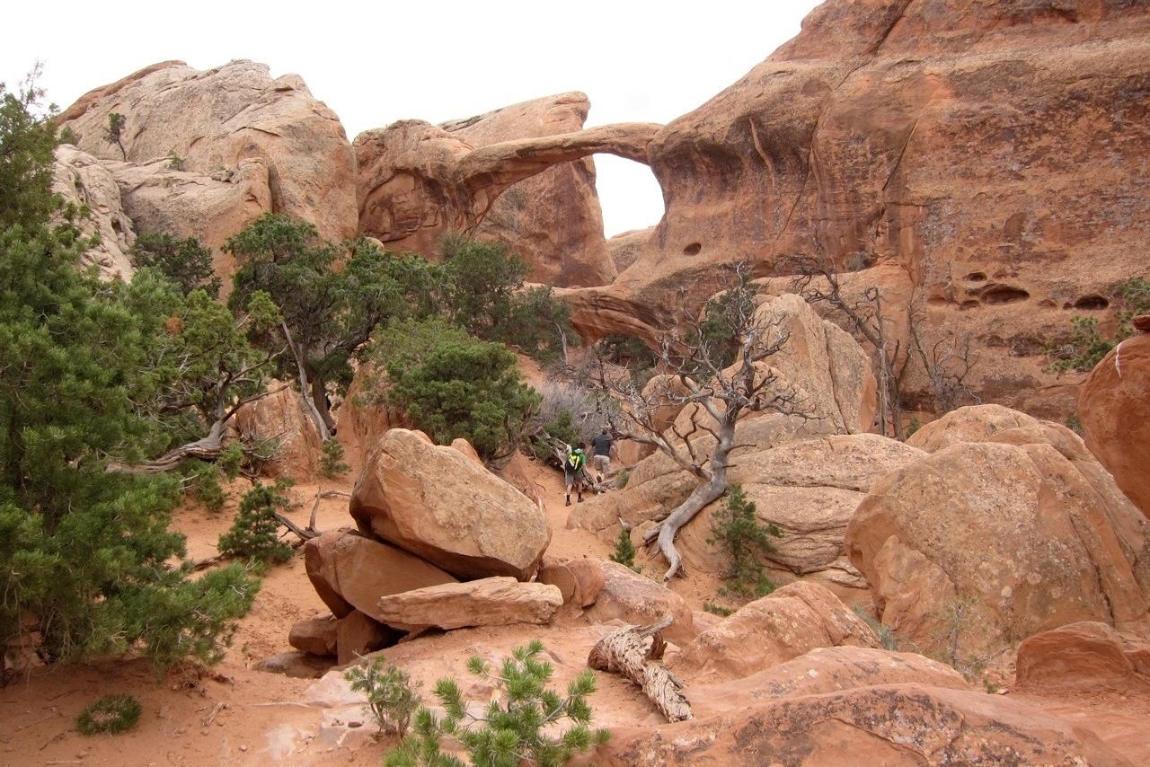 Devils Garden Trail, Double Arch, Arches National Park