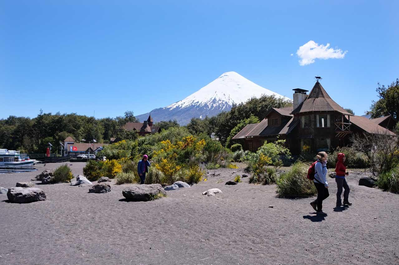Lago Todos los Santos am Osorno Vulkan