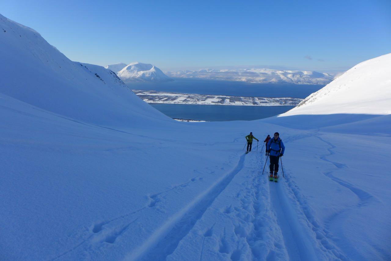 Eingehtour am Stetinden - Lyngen Alps Skitour