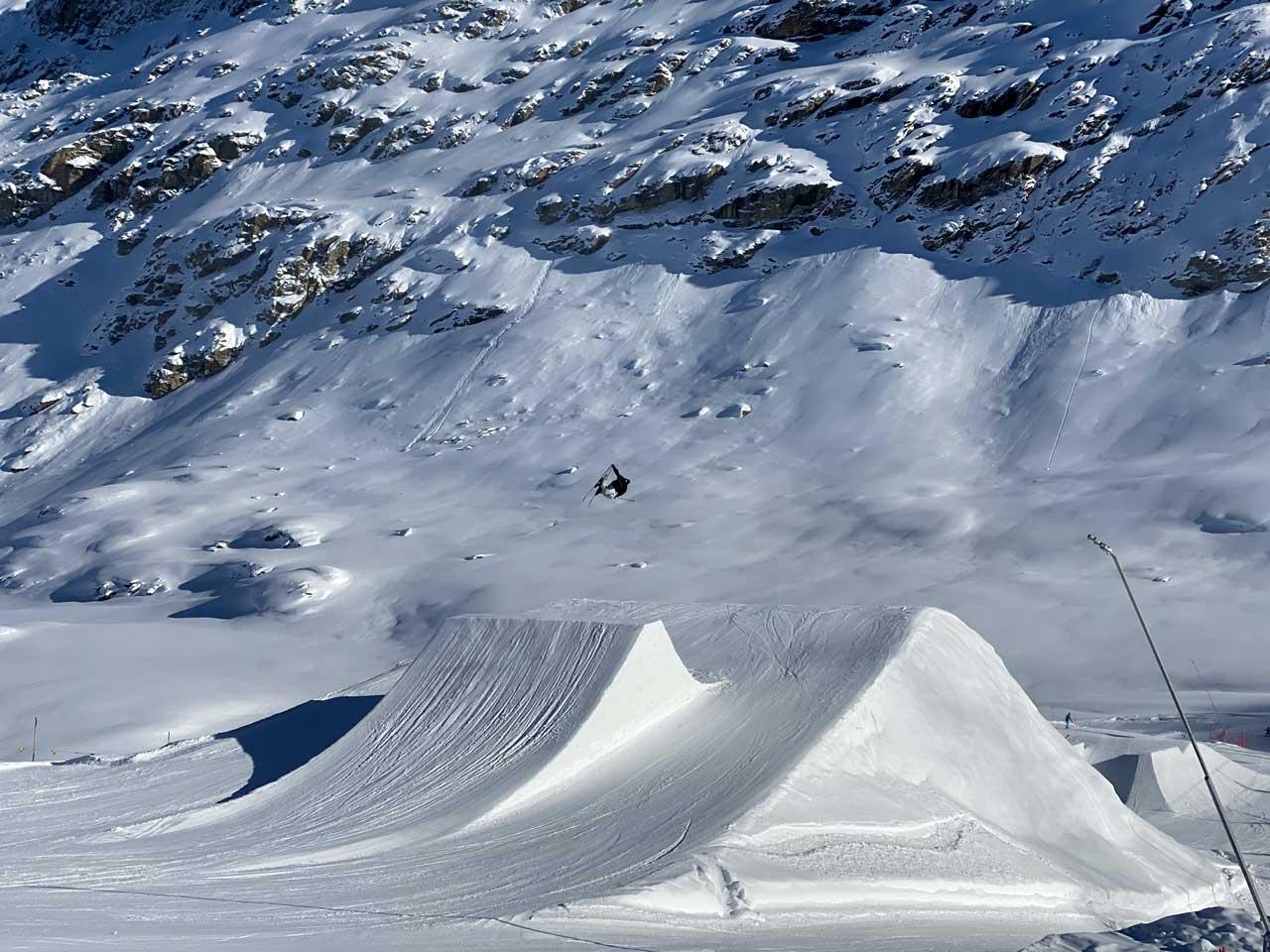 Profis am Werk - Corvatsch Snowpark