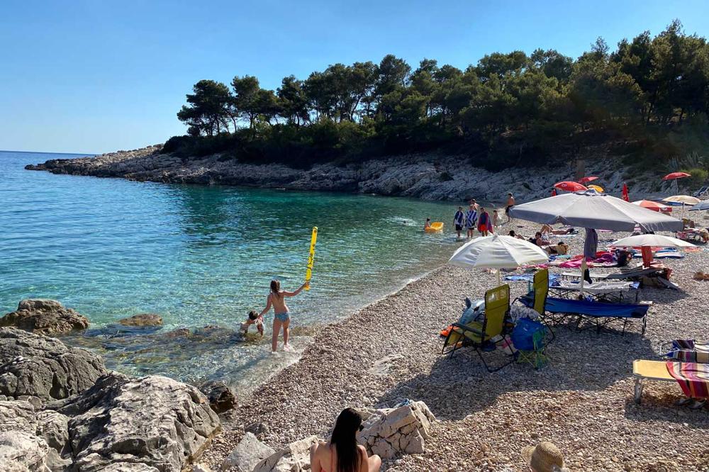 Strand Mala Milna  Insel Hvar