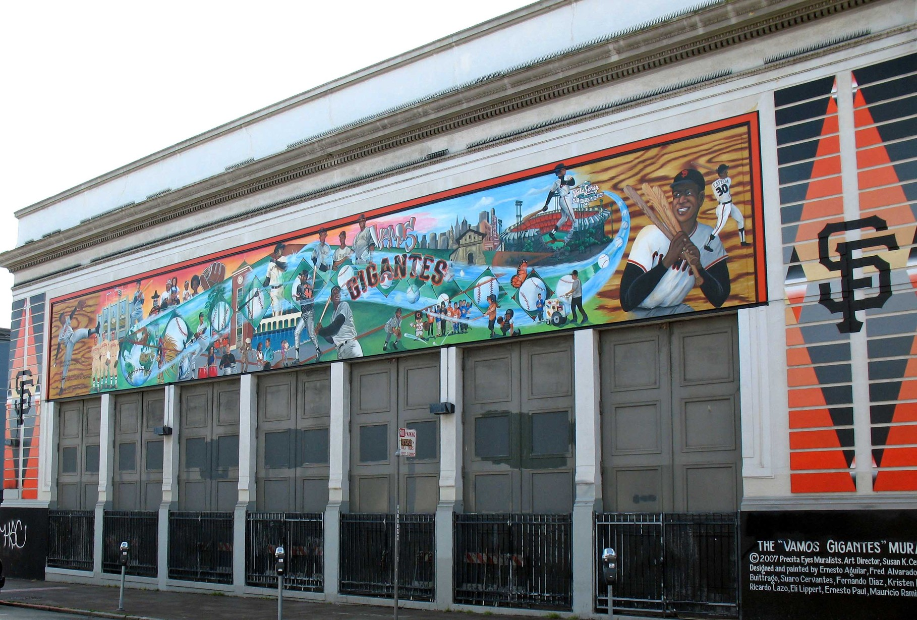 Mural Vamos Gigantes