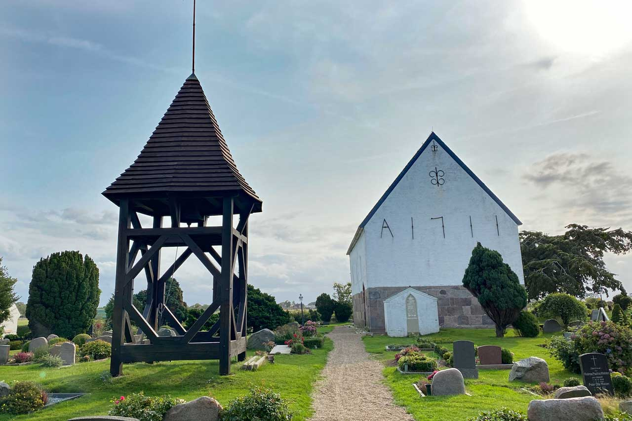 Glockenstapel St. Martin-Kirche Morsum Sylt