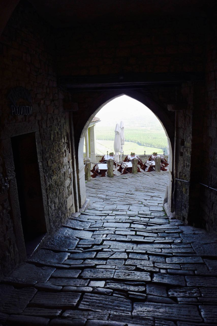 Istrien: Das mittelalterliche Motovun ist autofrei