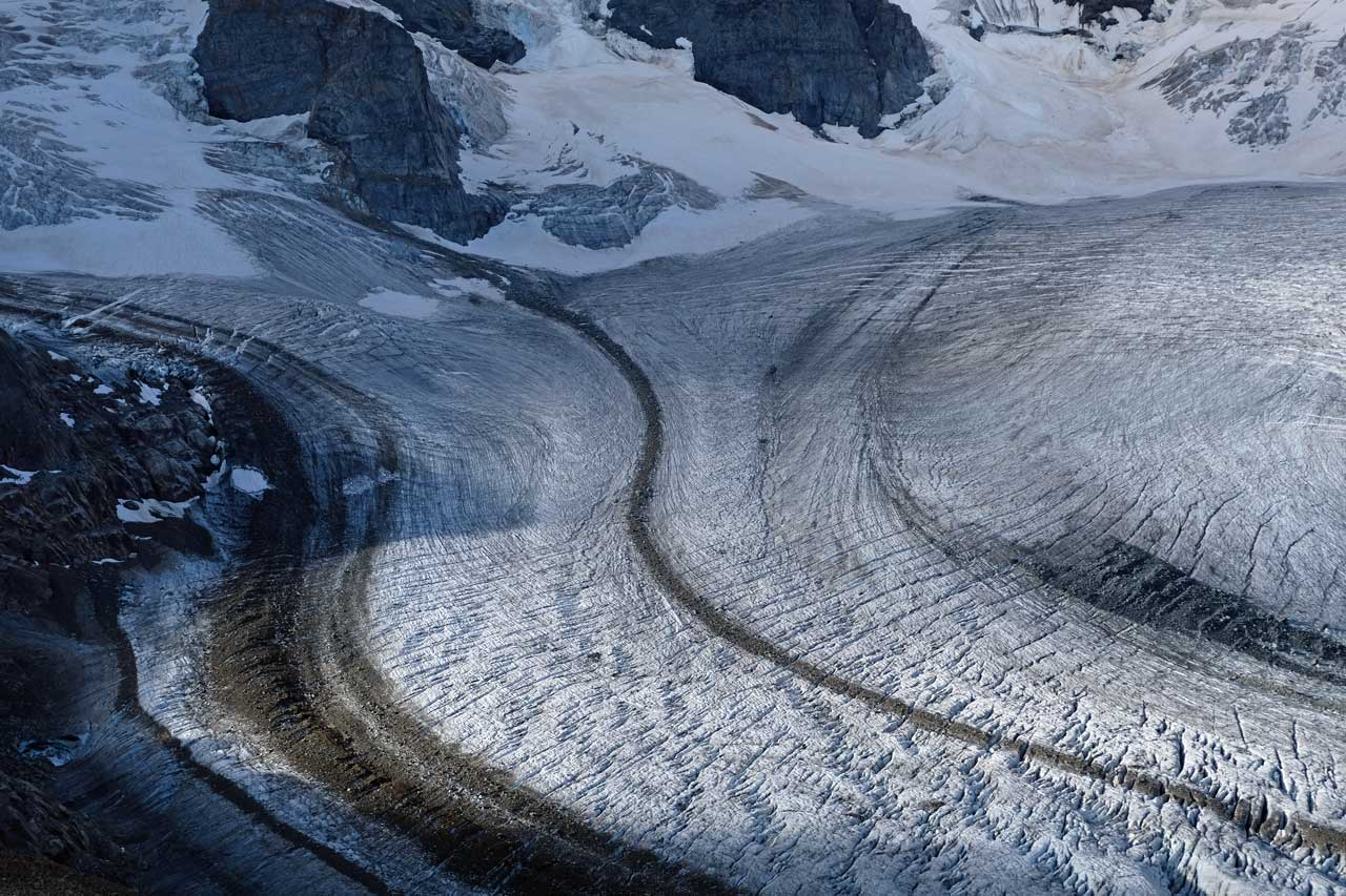 Pers- und Morteratschgletscher, Wanderung Diavolezza Bergstation