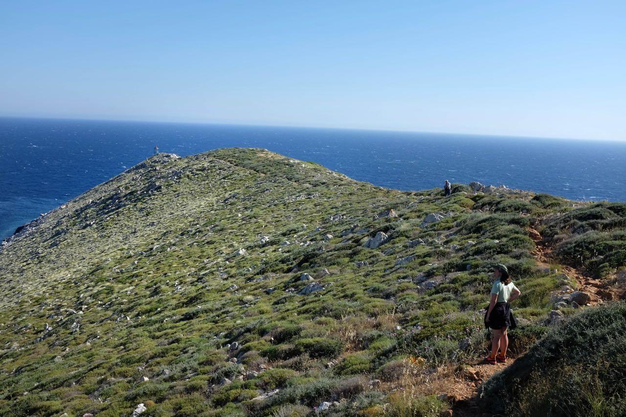 Wanderung zum Kap Tenaro, Mani Peloponnes