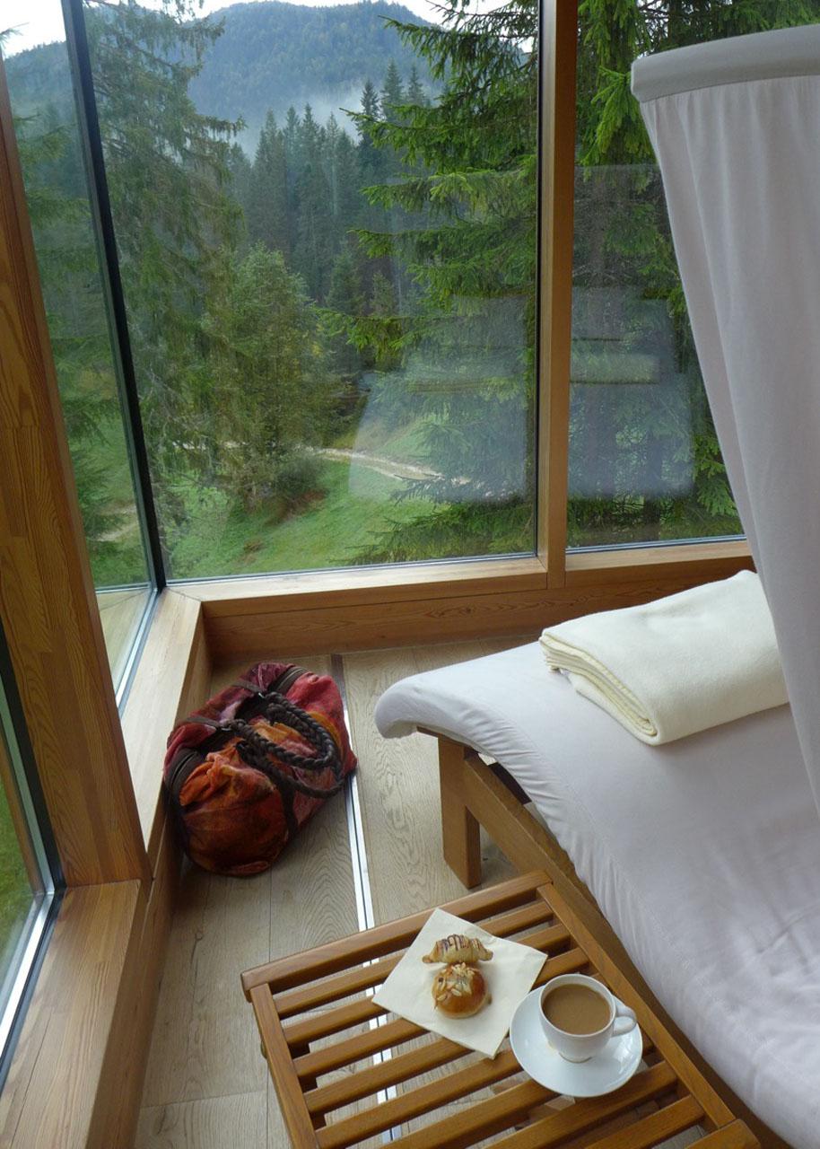 Relaxen im Kranzbach Badehaus
