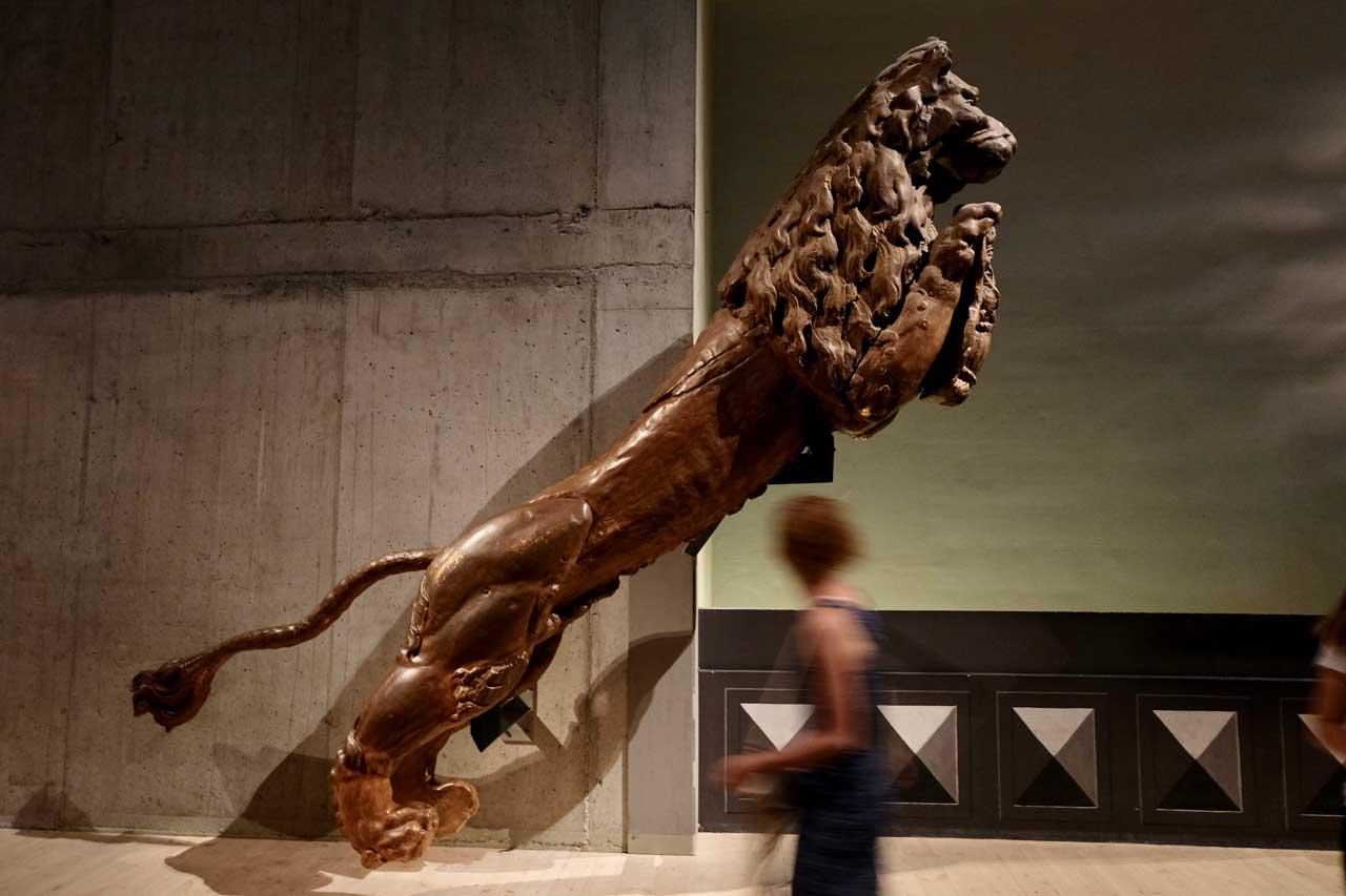 Löwen Galionsfigur der Vasa