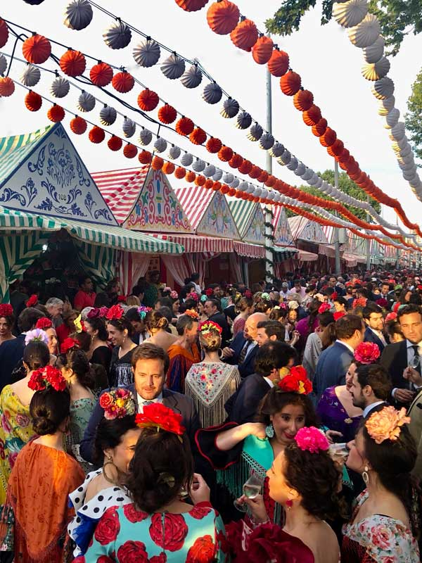 Sevillas Volksfest  Feria de Abril