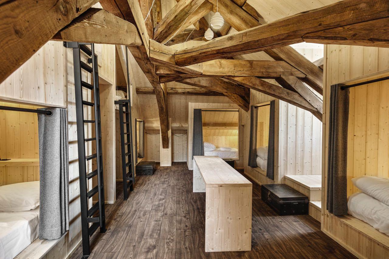 Der Schlafsaal, Refuge du Montenvers, Chamonix