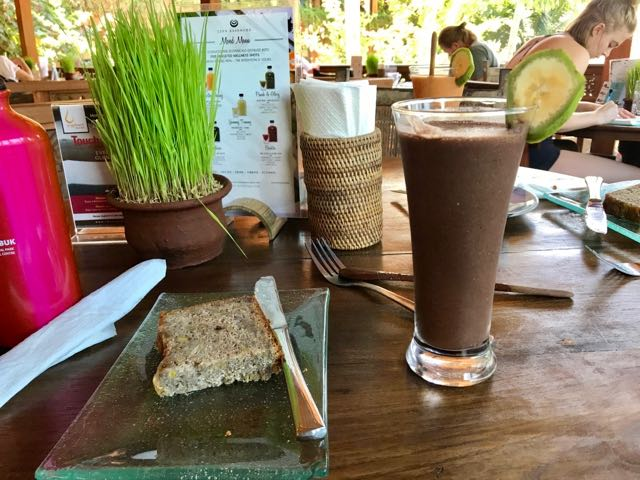 Raw Food Chocolate Shake inUbud