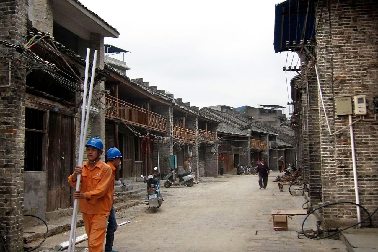 Dorf Xingping, aus alt wird neu