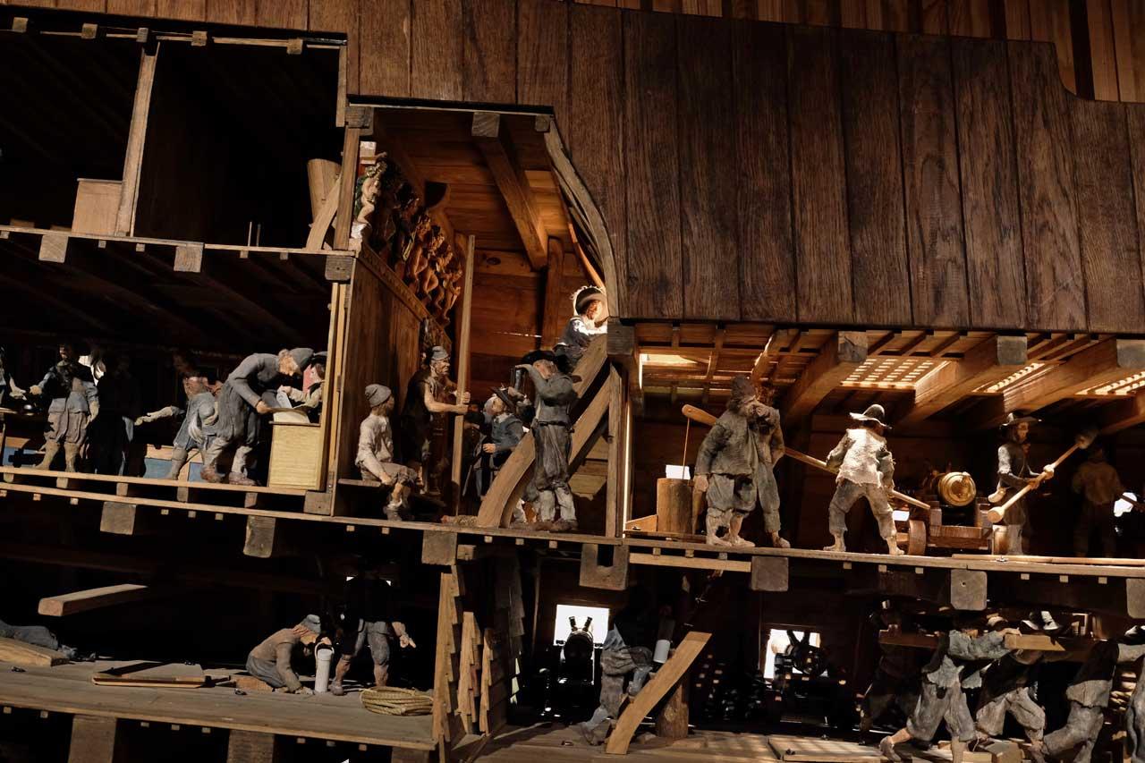 Vasa Museum Schiffsmodell