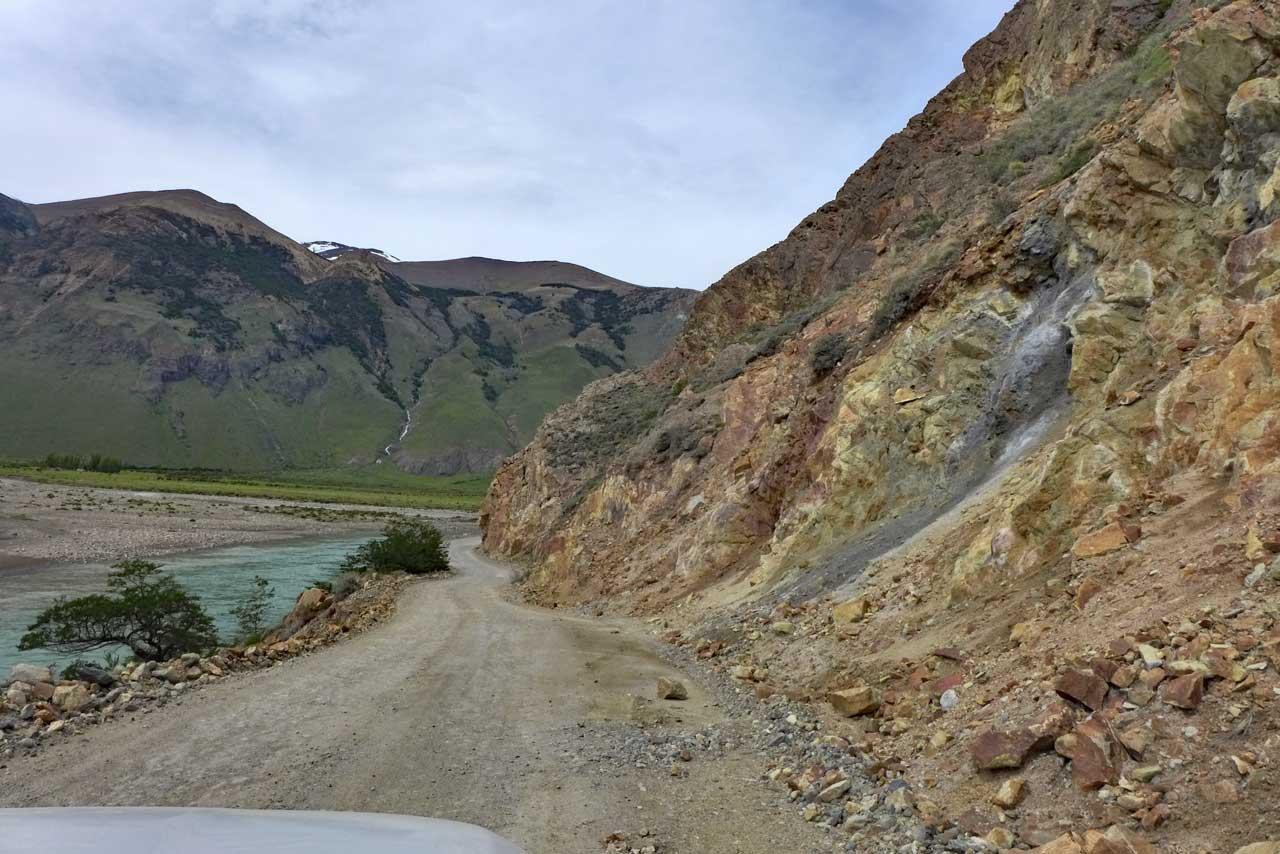 Flusstal bei El Chalten