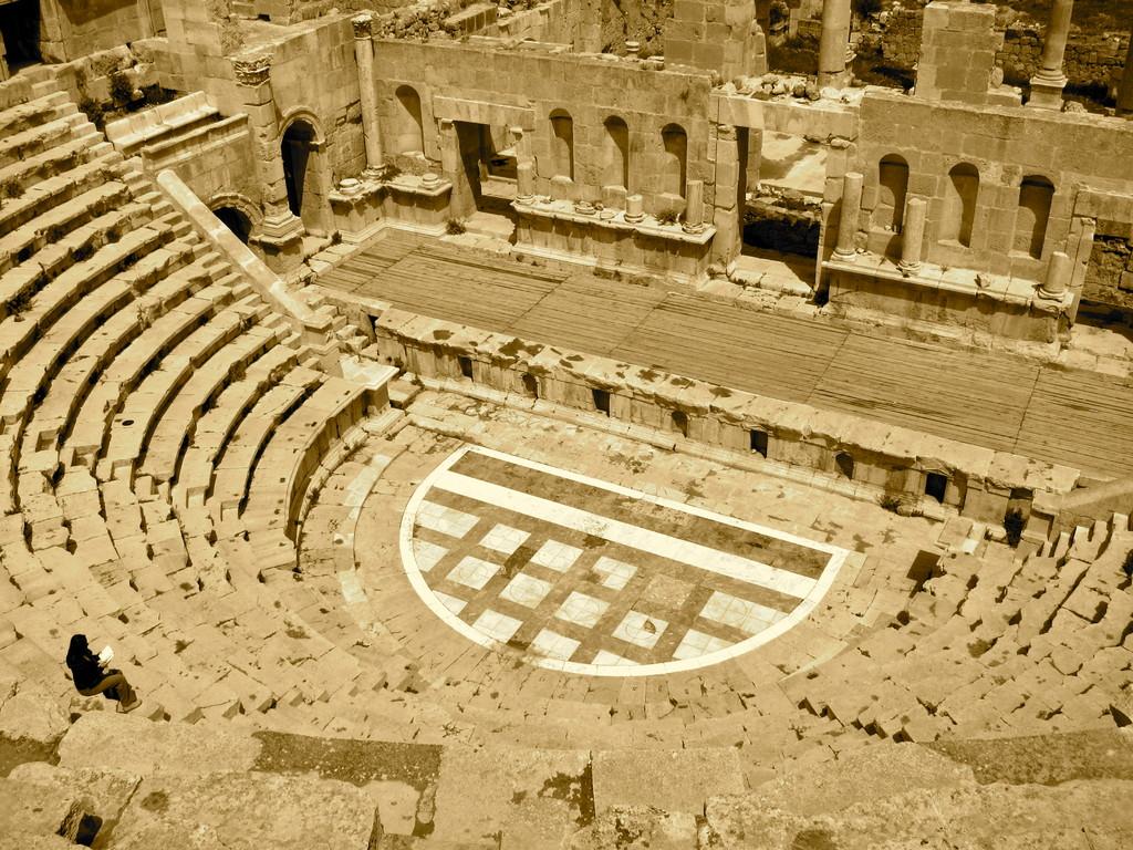 Theater Jerash Jordanien