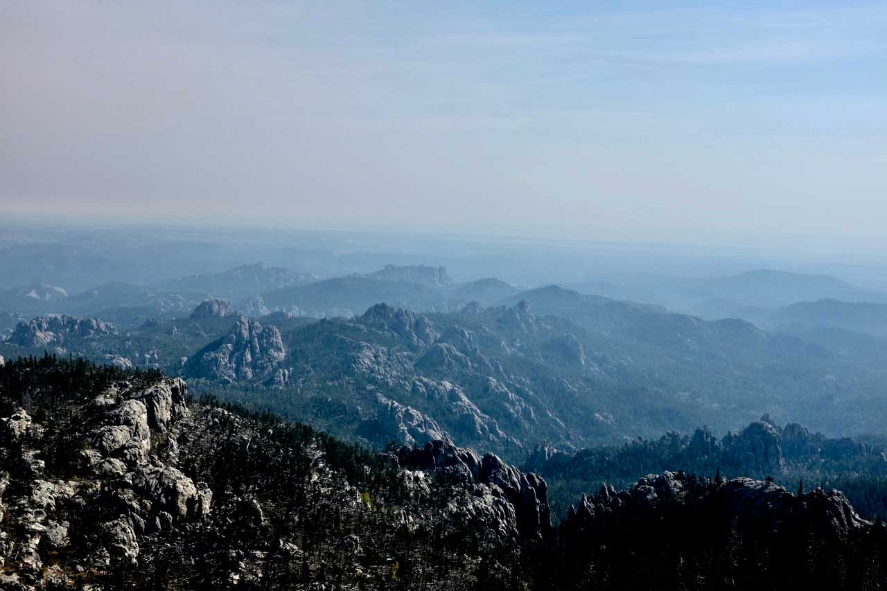 Black Elk Peak Panorama