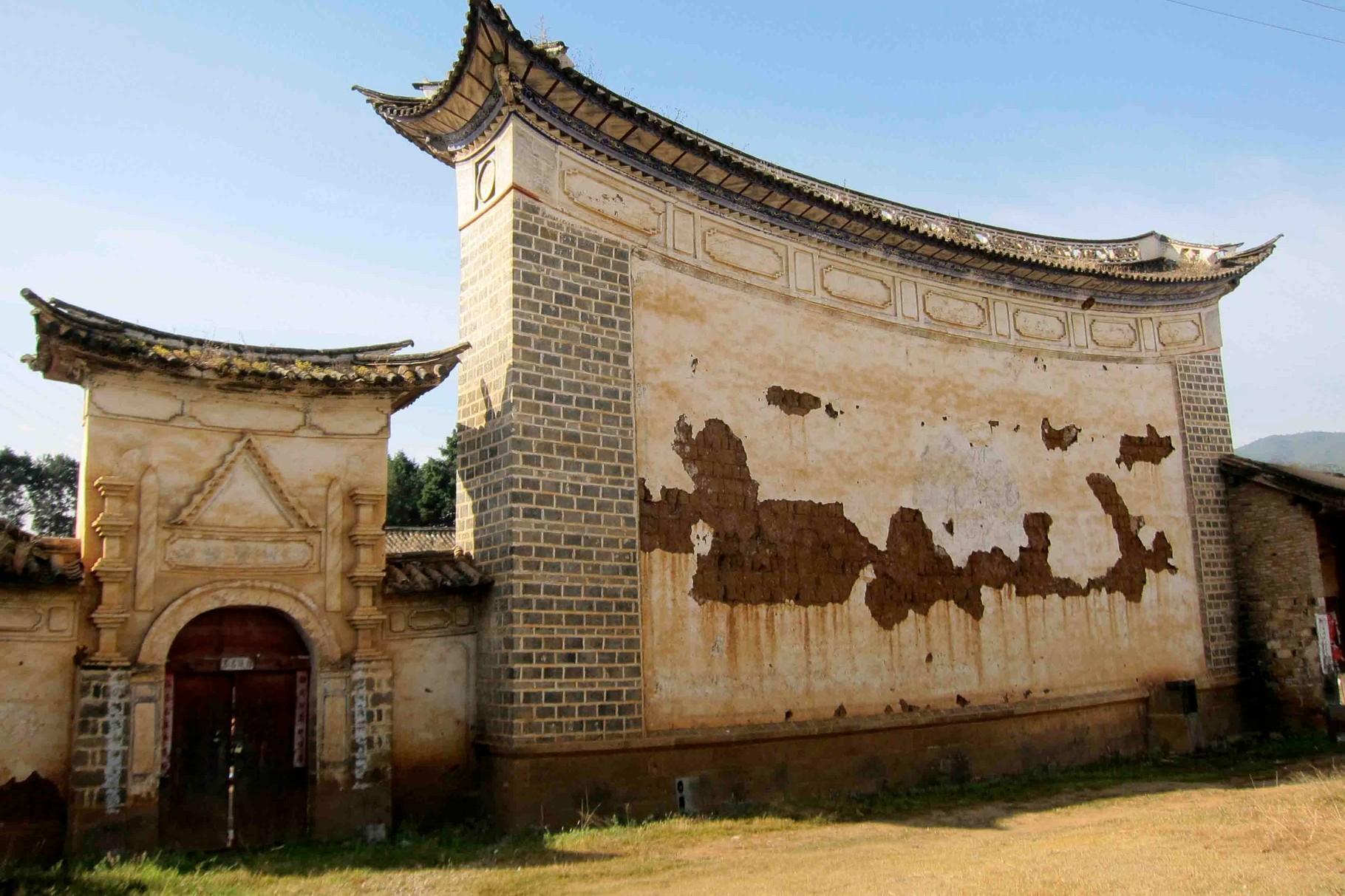 Temple of Town God nicht weit von Shaxi