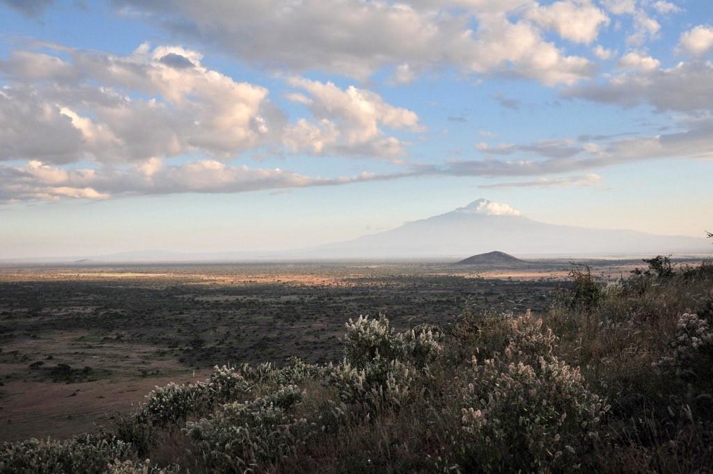Abendstimmung mit Kilimandscharo