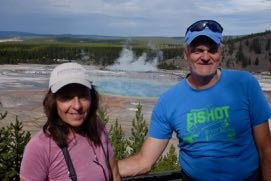 Reiseblogger Edeltrips im Yellowstone Nationalpark