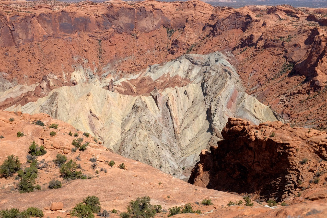 Upheaval Dome Krater, Island in the Sky
