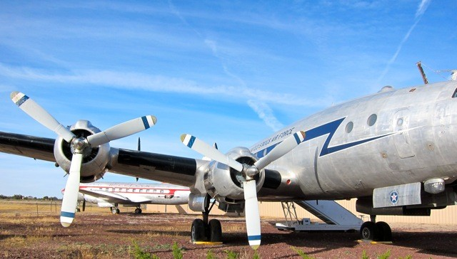 Planes of Fame Air Museum vor dem Grand Canyon