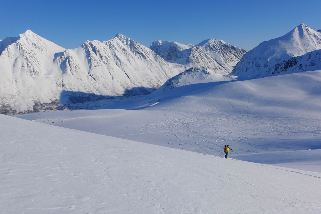 Lyngen Alps Skitour Norwegen