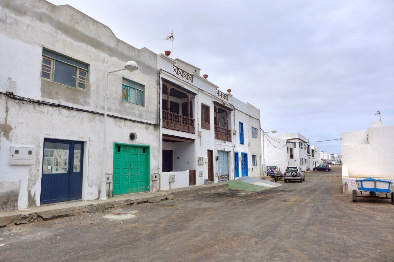 Wildwest-Kulisse Caleta de Famara