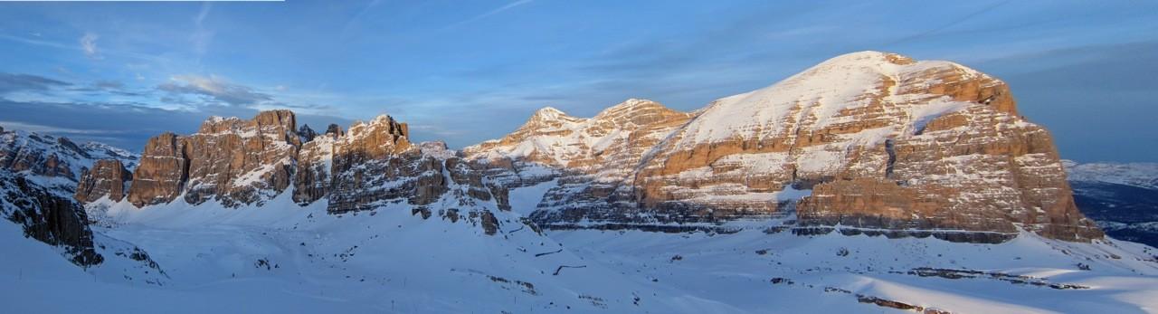 Panorama vom Rifugio Lagazuoi, Dolomiten Südtirol