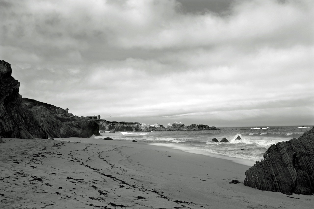 Garrapata State Park Beach, Highway No 1