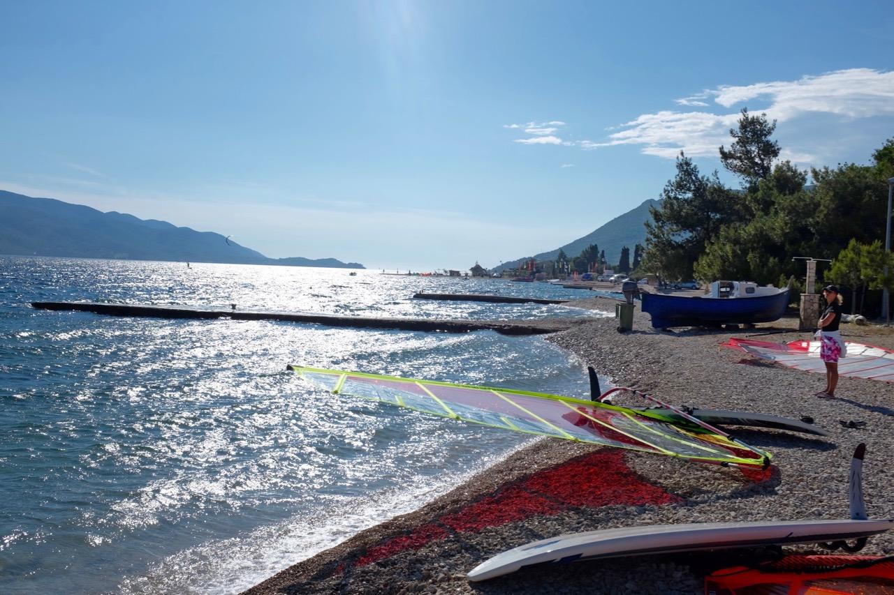 Beach bei Camp Palme und Antony Boy