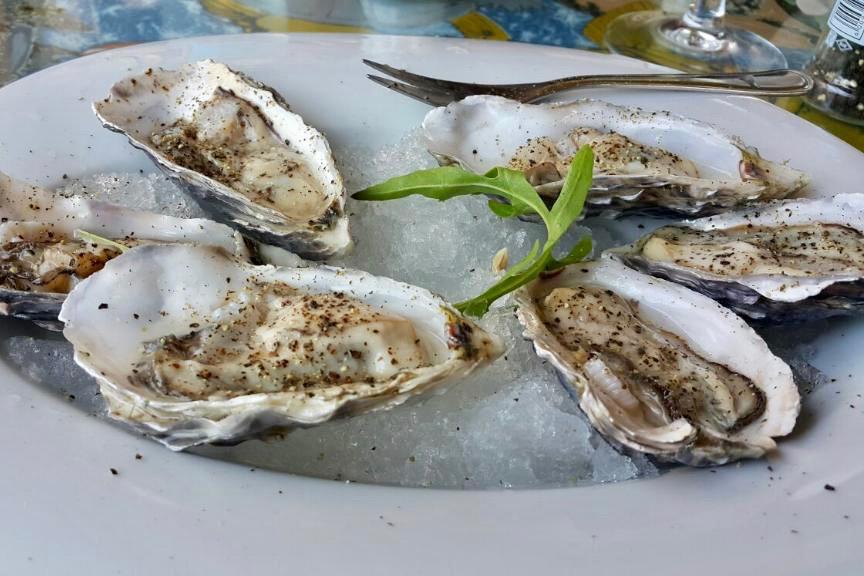 Austern The Tug Restaurant Swakopmund