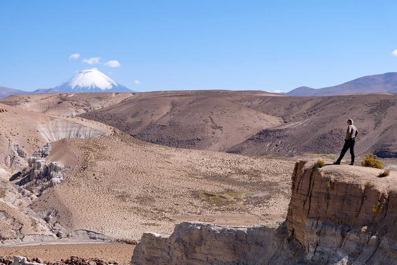 Altiplano Landschaft Chile