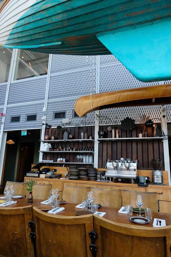 Inside Restaurant Oaxen Slip Stockholm