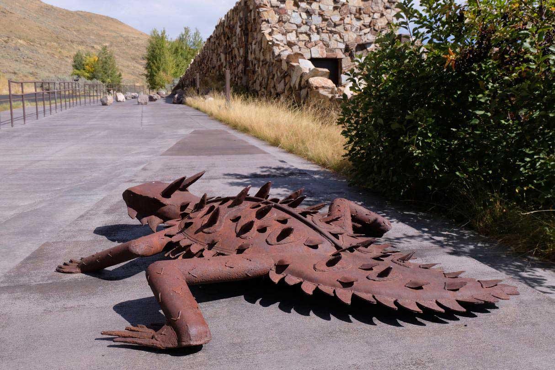 Skulpturen Pfad, National Museum of Wildlife Art Jackson