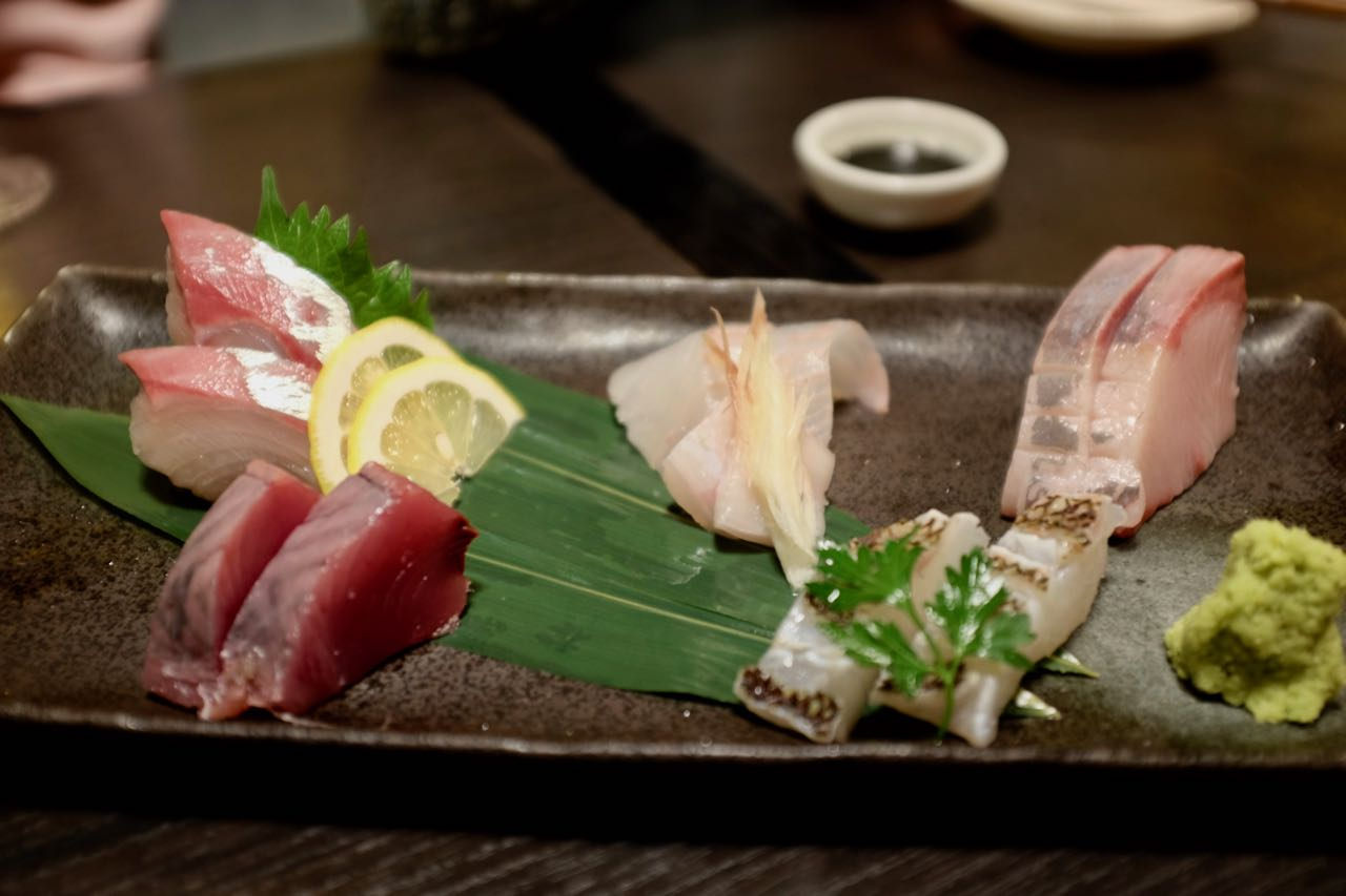 Sashimi – Restaurant Tipp Kyoto 'Nakashimaya'