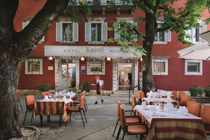 Traditionshotel Kaštel in Motovun