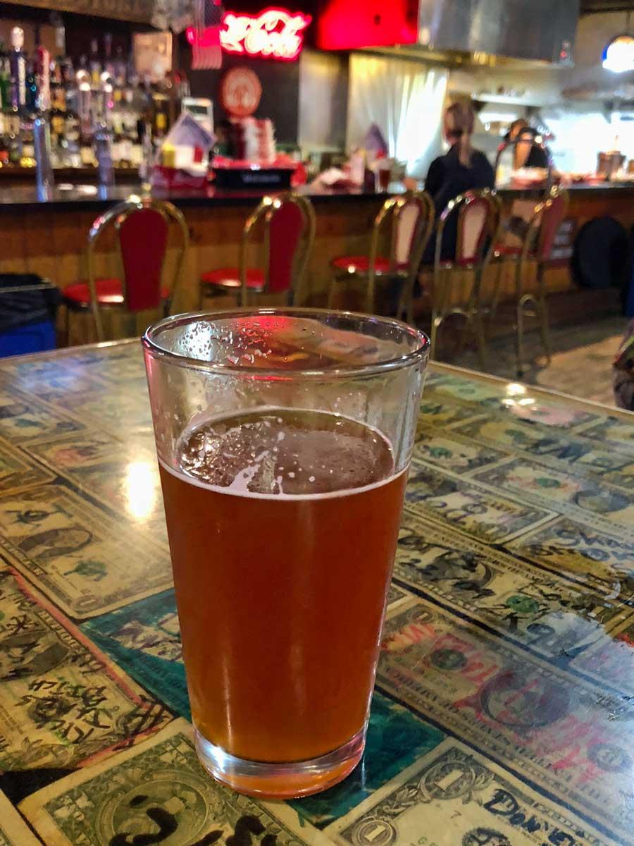 Gutes Craft Beer, Silver Dollar Bar Cody