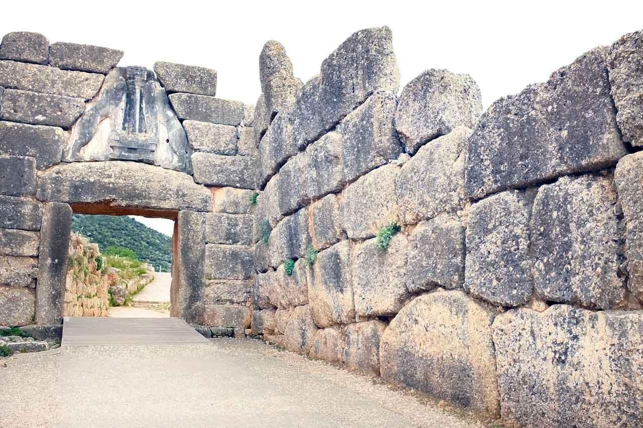 Mykene, eine meisterliche Konstruktion aus Stein
