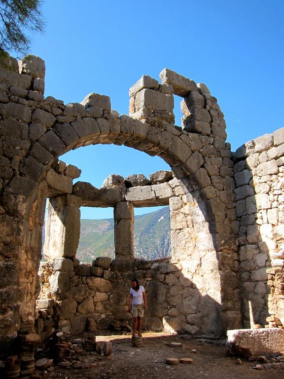 Antikes Arykanda, Türkei Lykische Küste