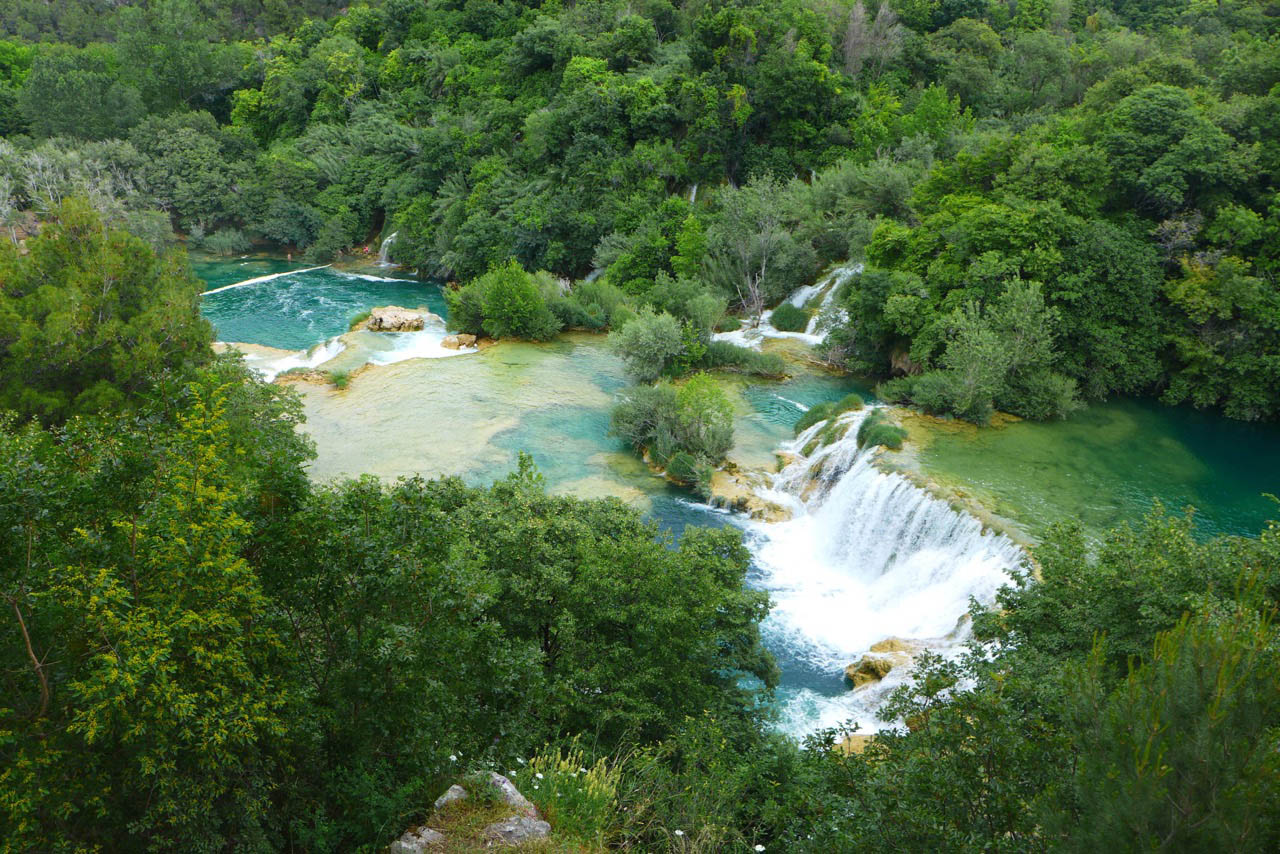 Nationalpark Krka Kroatien
