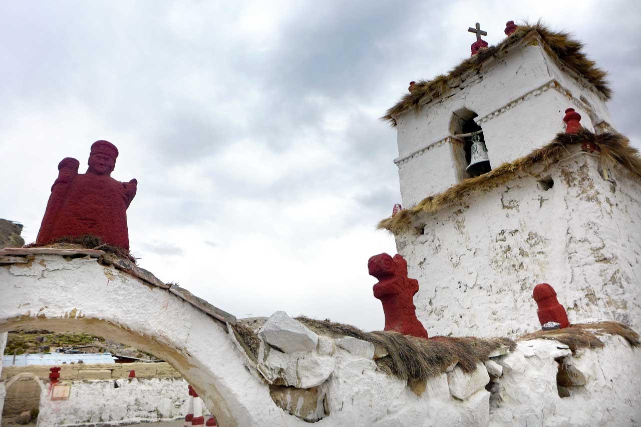 Kirche von Parinacota Chile
