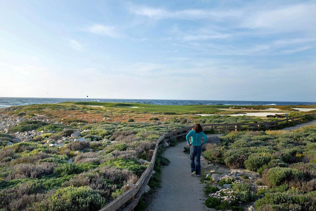 Coastal Trail bei Pacific Grove