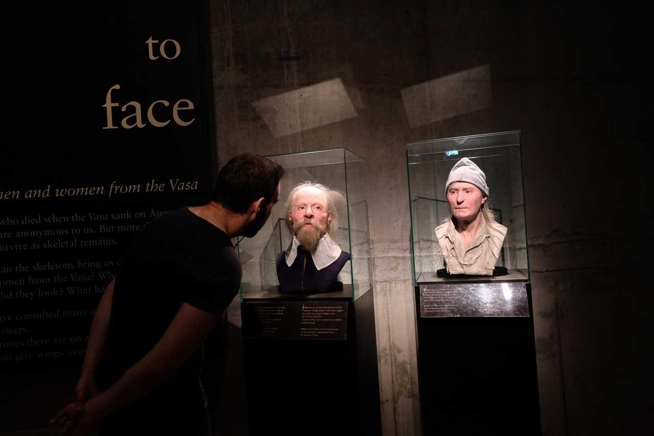 Vasa Museum Ausstellung