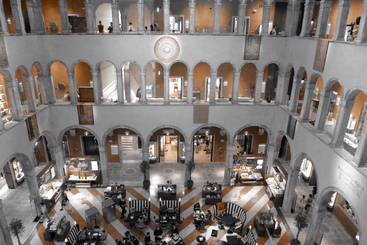 Fondaco dei Tedeschi Venedig Luxus-Kaufhaus am Rialto