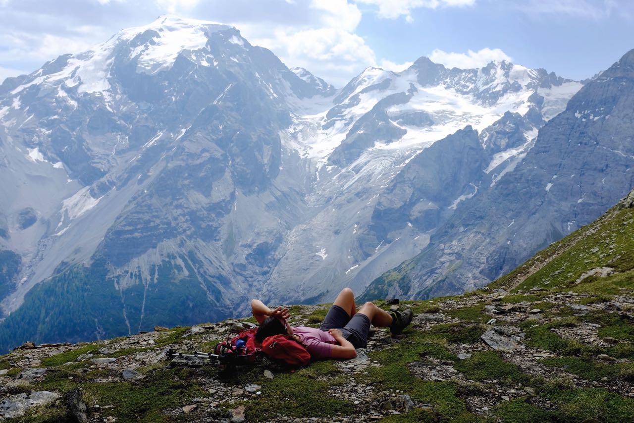 Den Ausblick genießen – Trafoier Höhenweg mit Ortlerblick