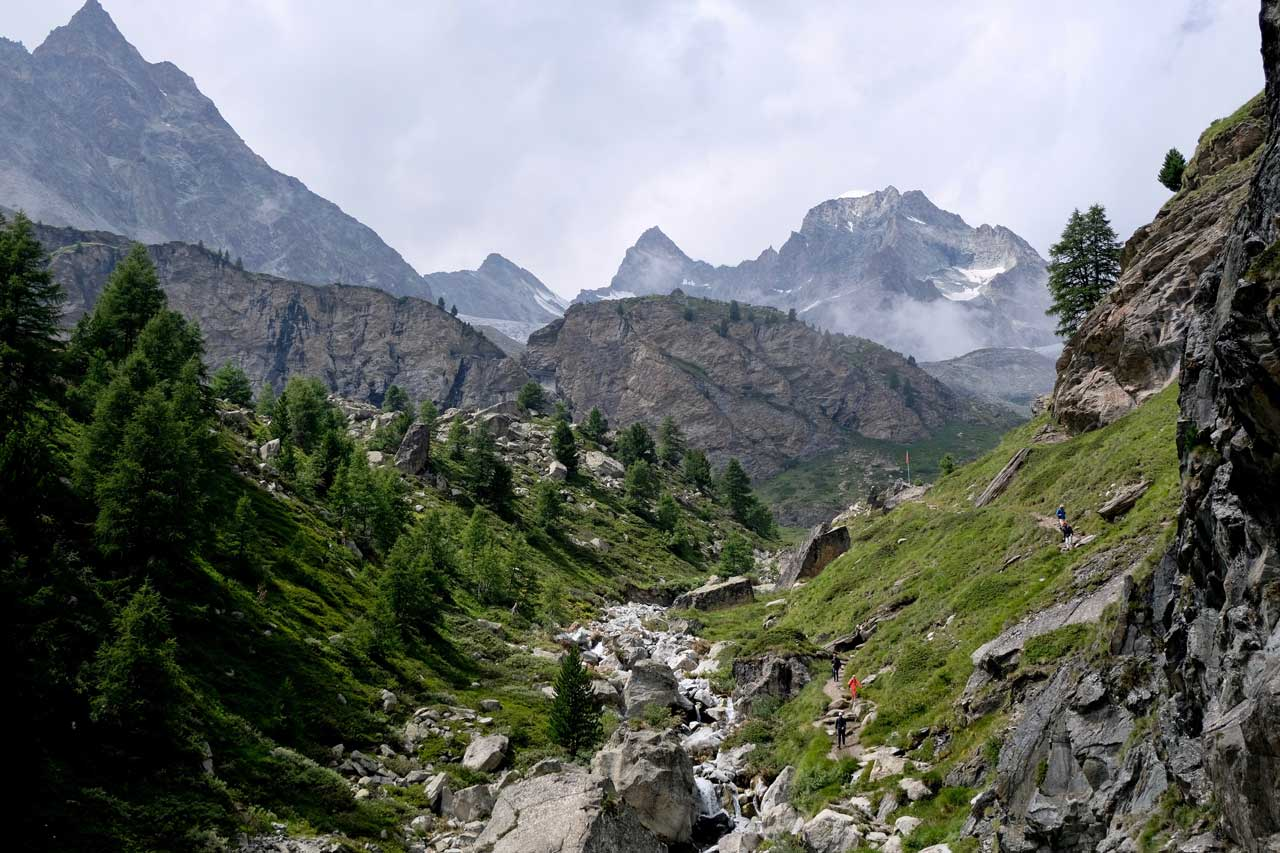 Zermatt-Trifthütte Wanderung